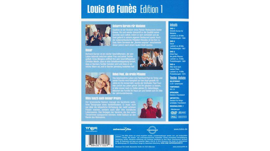 Louis de Funes Edition 1 4 DVDs