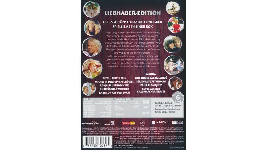 Astrid Lindgren Liebhaber Edition 10 DVDs