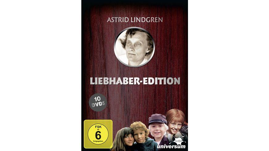 Astrid Lindgren - Liebhaber Edition  [10 DVDs]