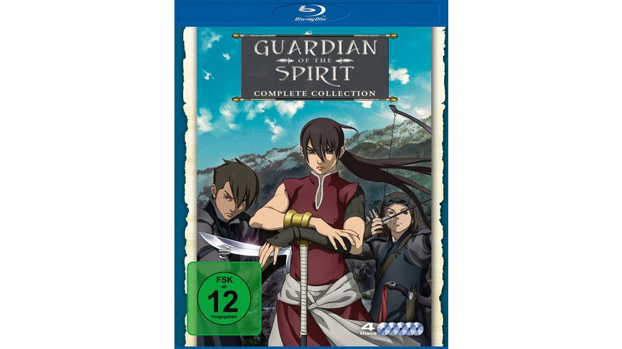 Guardian of the Spirit Complete Collection 4 BRs