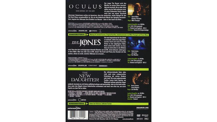 Oculus Mr Jones The New Daughter 3 DVDs