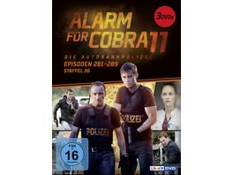 Alarm fuer Cobra 11 Staffel 36 3 DVDs