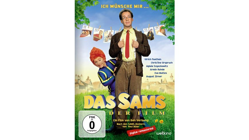 Das Sams Der Film Digital Remastered