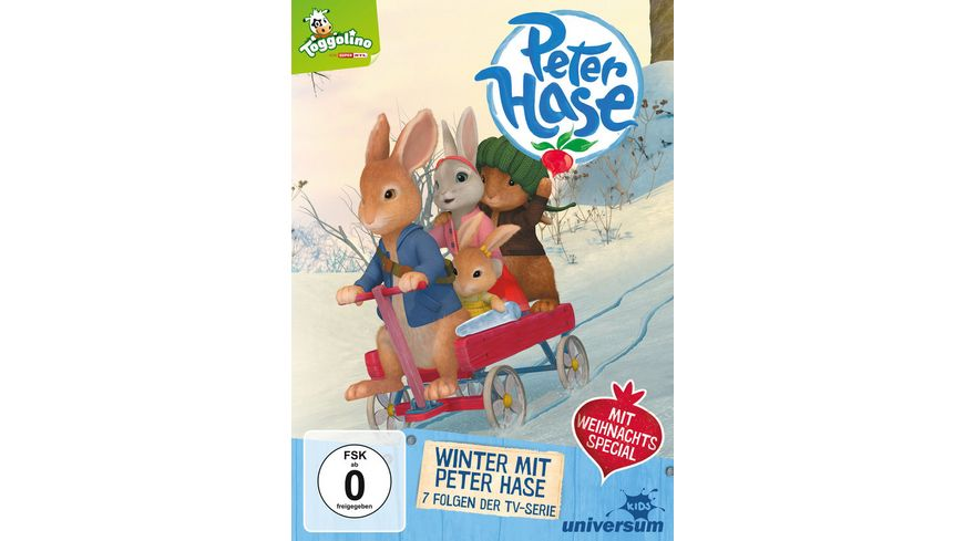 Peter Hase Winter mit Peter Hase