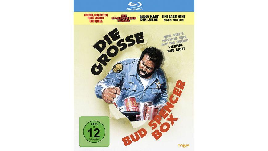 Die grosse Bud Spencer Box 4 BRs