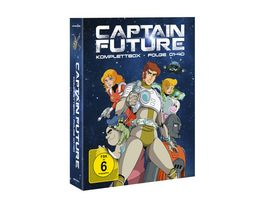Captain Future Komplettbox 4 BRs