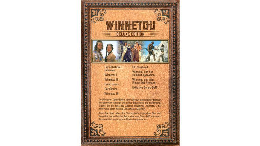 Winnetou Deluxe Edition Bonus DVD 9 DVDs
