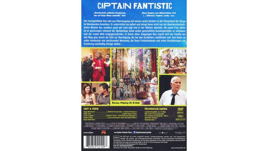Captain Fantastic Einmal Wildnis und zurueck