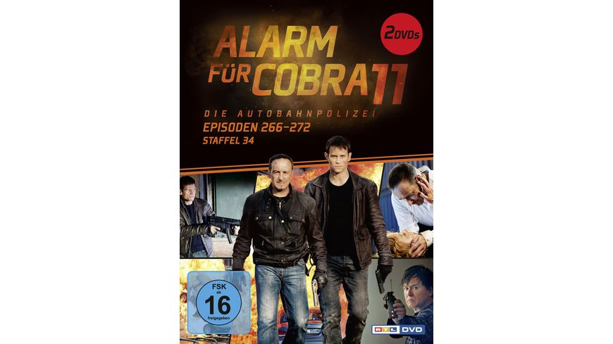 Alarm fuer Cobra 11 Staffel 34 2 DVDs