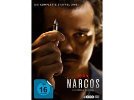 Narcos Staffel 2 4 DVDs