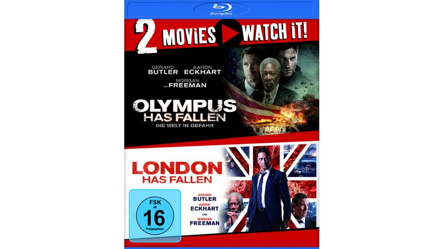 Olympus Has Fallen Die Welt in Gefahr London Has Fallen 2 BRs