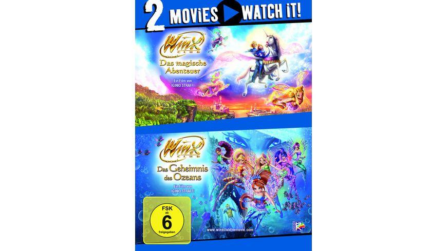 Winx Club Das magische Abenteuer Das Geheimnis des Ozeans 2 DVDs