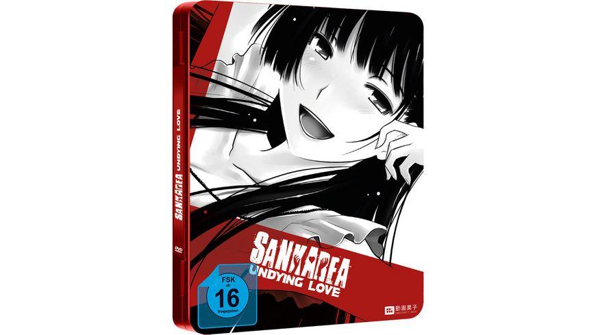 Sankarea Undying Love Die komplette Serie Steel Edition Limitiertes FuturePak aus Metall 4 DVDs