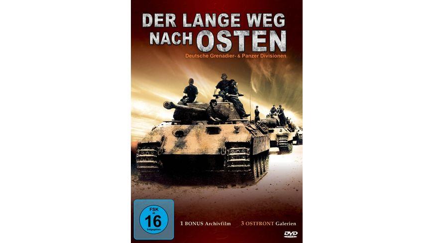 Der lange Weg nach Osten Deutsche Granadier und Panzer Division
