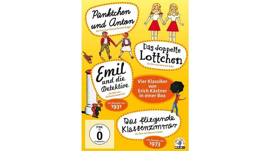 Erich Kaestner Box 4 DVDs