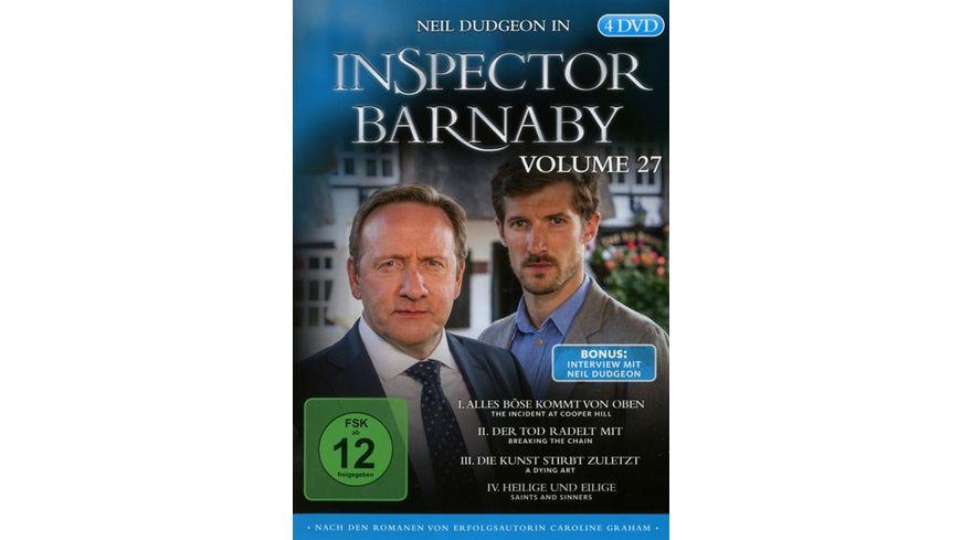 Inspector Barnaby Vol 27 4 DVDs