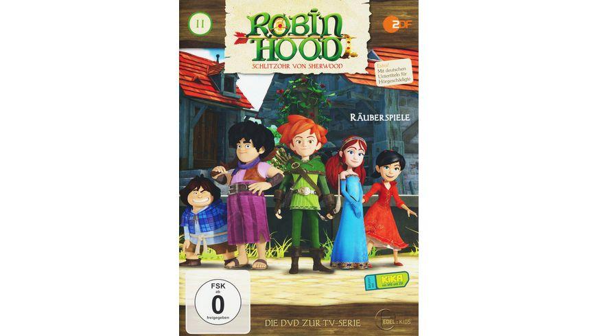 Robin Hood Schlitzohr von Sherwood Folge 11 Raeuberspiele
