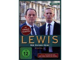 Lewis Der Oxford Krimi Staffel 9 Pilotfilm Der junge Inspektor Morse 4 DVDs