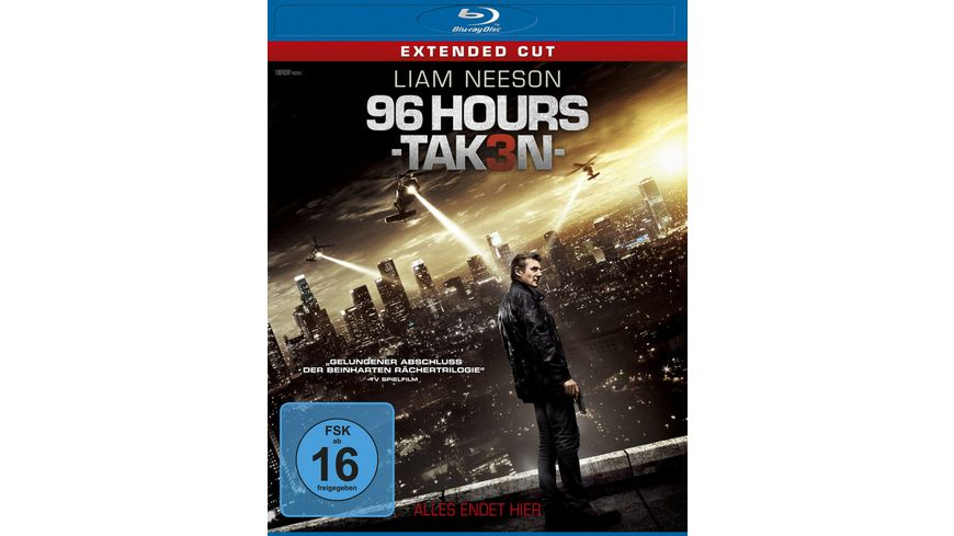 96 Hours Taken 3 Extended Cut