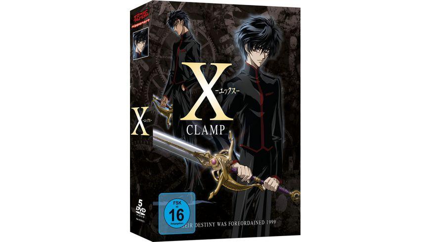 X Gesamtausgabe 5 DVDs