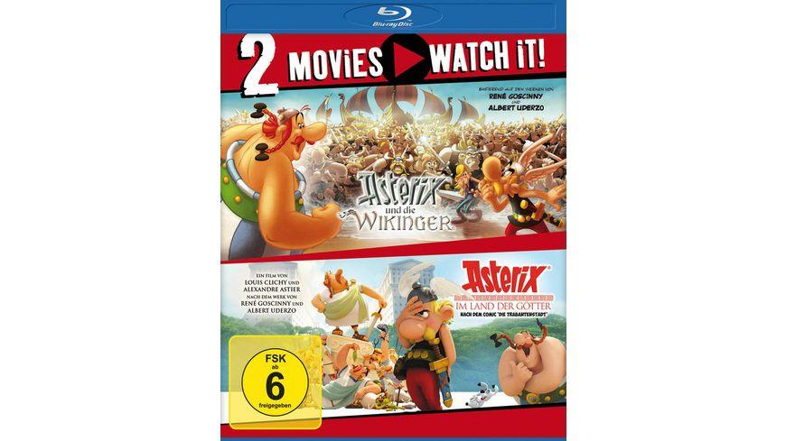 Asterix und die Wikinger Asterix im Land der Goetter 2 BRs