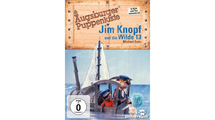 Jim Knopf und die Wilde 13 Augsburger Puppenkiste