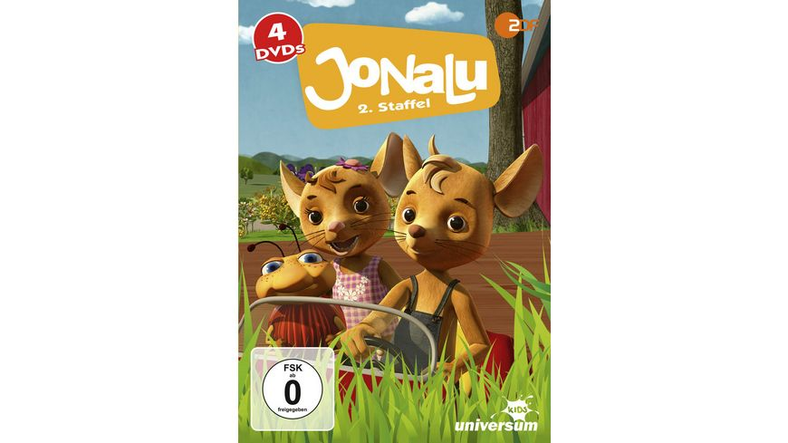JoNaLu Staffel 1 DVD 5 8 Komplettbox 4 DVDs