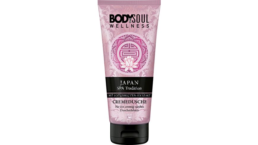 BODY SOUL Cremedusche Japan