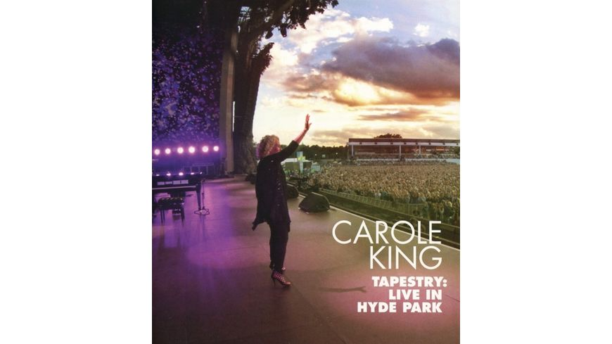 Tapestry Live in Hyde Park CD DVD