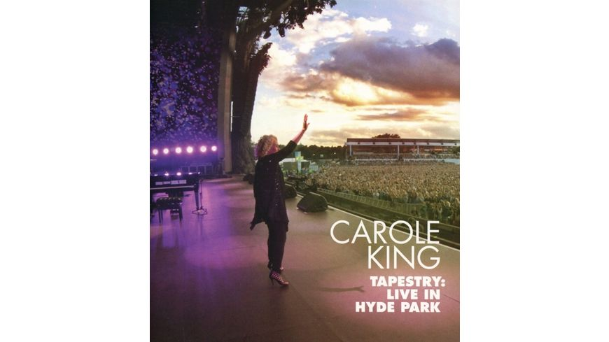 Tapestry Live in Hyde Park CD Blu Ray