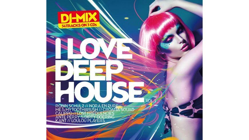 I Love Deephouse Vol 1