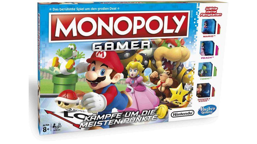 Hasbro Gaming Monopoly Gamer Mario Edition