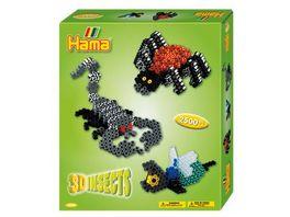 Hama Buegelperlen Geschenkpackung 3 D Insekten