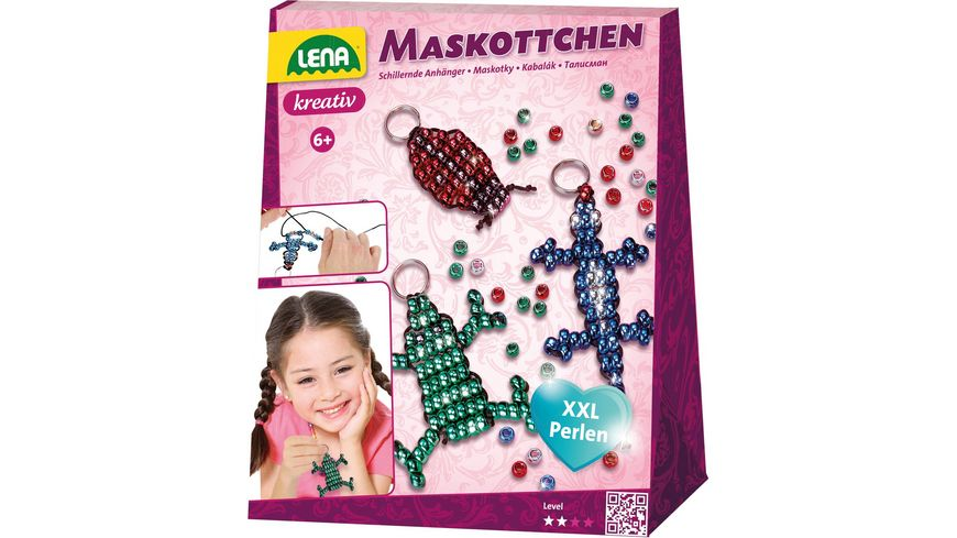 Lena 42131 Bastelset Maskottchen