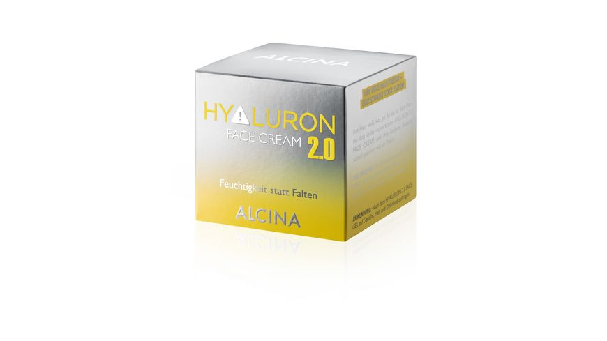 ALCINA Hyaluron 2 0 Face Cream