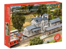 Faller 190060 H0 Set Bahnhof Radebusch