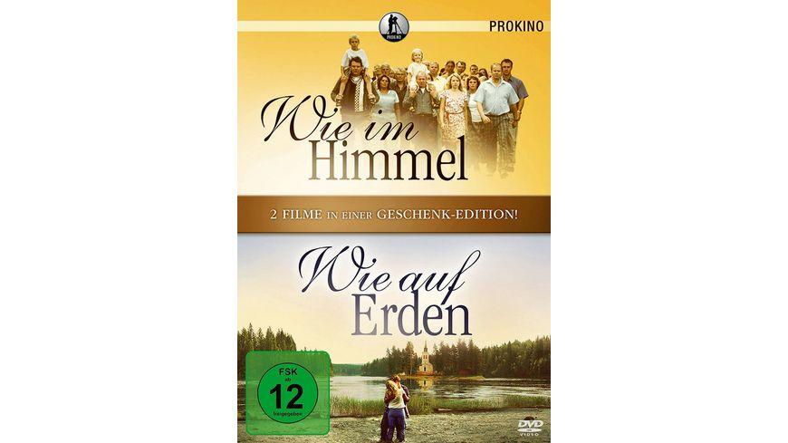 Wie im Himmel Wie auf Erden Limitierte Auflage Geschenk Edition 2 DVDs