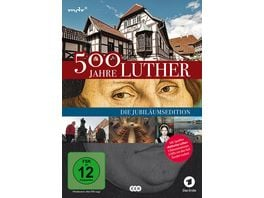500 Jahre Luther Die Jubilaeumsedition 3 DVDs