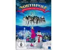 Northpole Weihnachten steht vor der Tuer