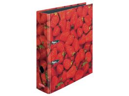 herlitz Motiv Ordner A4 Erdbeere breit