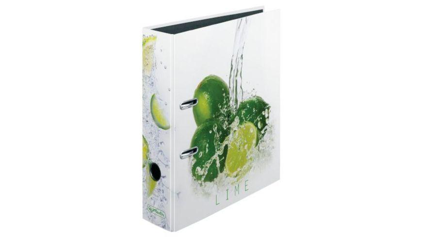 herlitz Motiv Ordner A4 breit Fresh Fruit Limette
