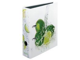 herlitz Motiv Ordner A4 Fresh Fruit Limette breit