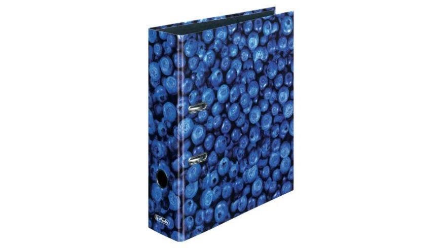herlitz Motiv Ordner A4 breit Blaubeere
