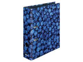 herlitz Motiv Ordner A4 Blaubeere breit