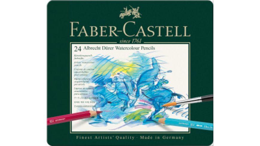 FABER CASTELL Aquarellstifte A Duerer 24er Metalletui