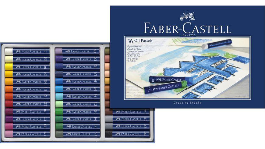 FABER CASTELL Oelpastellkreide 36er Etui Karton