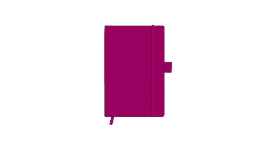 herlitz my book Notizbuch Classic A6 berry kariert