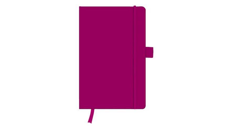 herlitz my book Notizbuch Classic A5 berry kariert