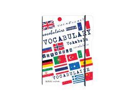 my book flex Notizheft PP A5 my book Vokabeln liniert
