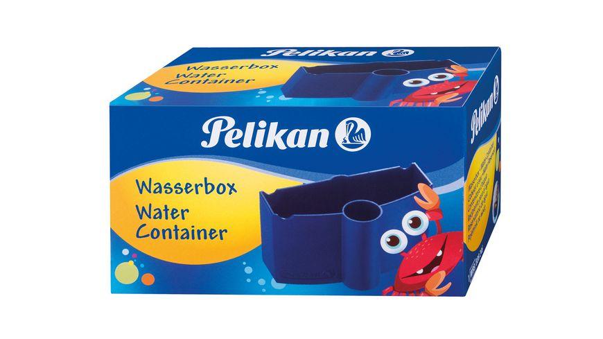 Pelikan Pinselwaschbox blau